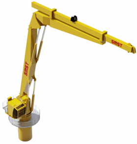 SMST Equipment 3D-Motion Compensated Crane L_5t